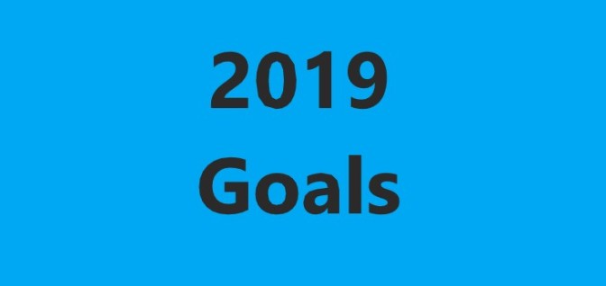 2019 – Goal setting for business.